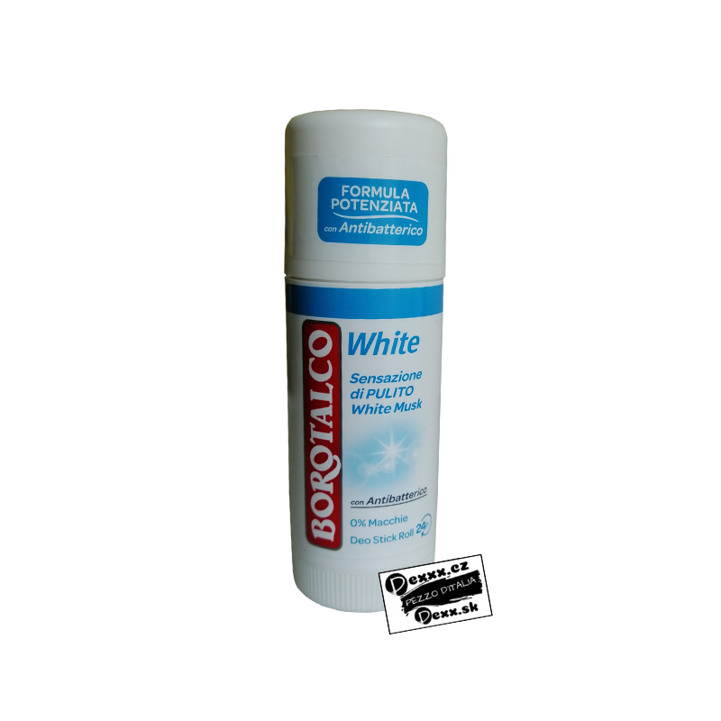 Borotalco roll-on White deodorant, 40 ml
